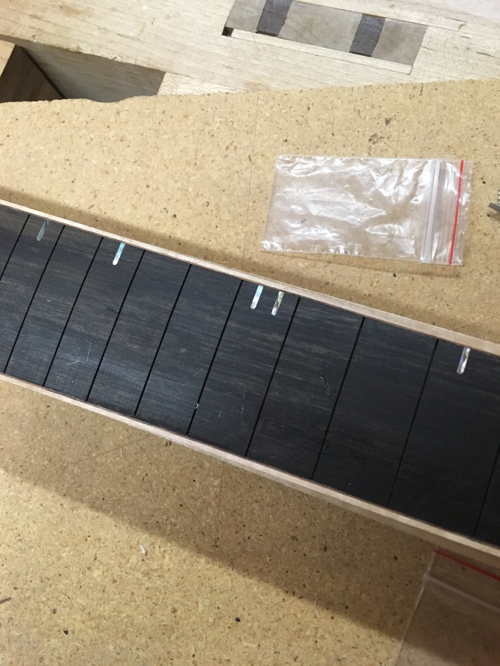 Guitar Build 7: Fretboard Inlays